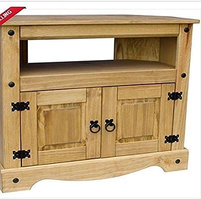 Unidad de TV armario muebles de pino macizo mexicano DVD/HOME sofá ...