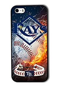Tomhousomick? Custom Design Forever MLB Tampa Bay Rays Team Case Cover for iPhone 5