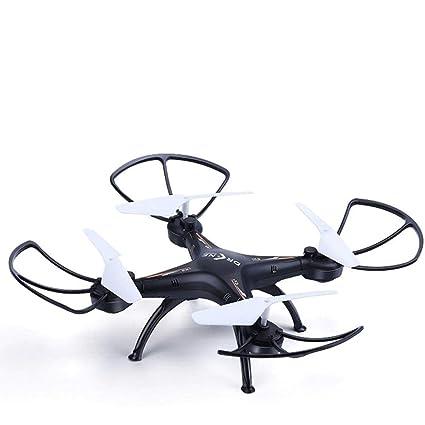 Mopoq Avión de Control Remoto Gran avión Drone de Cuatro Ejes ...