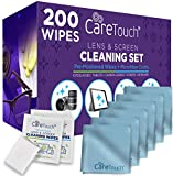 Best Eyeglass Wipes - Care Touch Lens Cleaning Wipes with Microfiber Cloths Review
