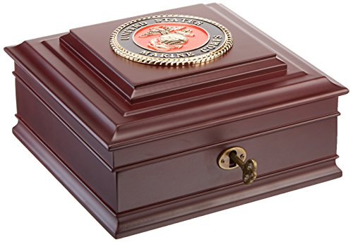 Allied Frame United States Marine Corps Executive Desktop Box (United States Marine Corps)