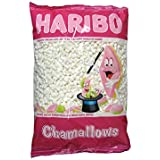 Haribo Chamallows Mini White Retro Kids Sweets - 1kg