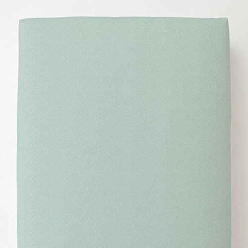 Carousel Designs Seafoam Heather Toddler Bed Sheet Fitted