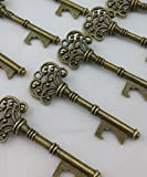 40PCS Bottle Openers Bronze Wedding Favors Rustic Decoration Party Favor