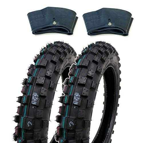 SET OF TWO: MMG Knobby Tires 2.50-10 (Rim 10