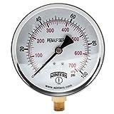 Winters PEM223LF PEM-LF Series Pressure Gauge, 4