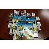 Panini World Cup Brazil 2014 Complete Set Original 640 Stickers + Album
