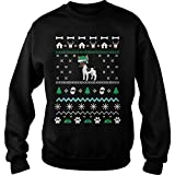 Merry Pets Apparel Toy Fox Terrier Dog Christmas Ugly Christmas Sweater (5XL) - Toy Fox Terrier Lovers Sweatshirt Men Women