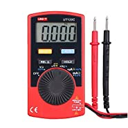 UNI-T UT120C Super Slim Pocket Handheld Digital Multimeters DC/AC Amp Tester
