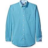 IZOD Men's Big and Tall Advantage Performance Stretch Long Sleeve Shirt, Deep Gulf Stream, 5X-Large Big