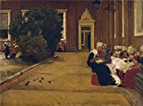 Polyster Canvas ,the Reproductions Art Decorative Prints On Canvas Of Oil Painting 'Max Liebermann Amsterdamer Waisenmadchen (Studie) ', 12 X 16 Inch / 30 X 41 Cm Is Best For Home Office Decor And Home Artwork And Gifts