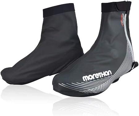 Morethan サイクル シューズカバー 防風 撥水 MT-AVP-002