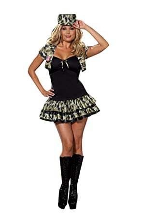 adult costume soldier girl xl size 14 16 halloween costume adult 14 - Soldier Girl Halloween Costume