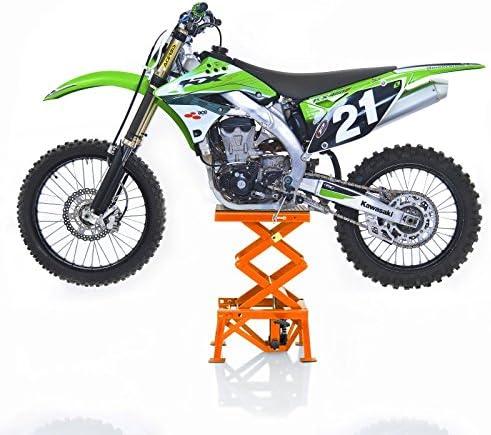 Greensen Cavalletto di Sollevamento Professionale per Moto a Forbice Idraulico Professionale cavalletto per Moto da 300 libbre Cavalletto per Moto a Forbice Sollevamento per Moto