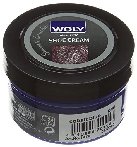 Woly Shoe Cream, Unisex-Erwachsene Schuhe Pflege Zubehör Kobaltblau