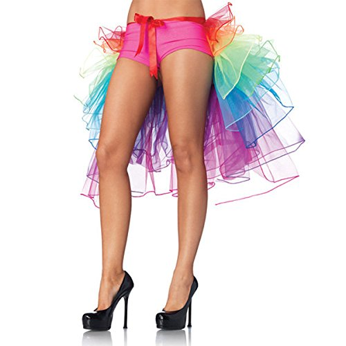 Bazaar Girls Rainbow Tutu Dress Sexy Puff Skirt Tail Party Cosplay Club Dress by Big Bazaar (Image #4)