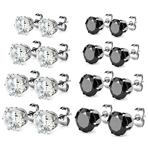 Charisma Stainless Zirconia Crystal Earrings product image