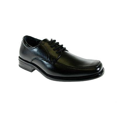 Conal Boys B-99006 Classic Square Toe Dress Oxfords
