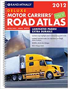 Rand mcnally 2012 deluxe motor carriers road atlas rand for Motor carriers road atlas download