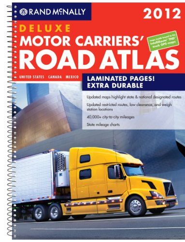 Rand McNally Motor Carries Road Atlas Deluxe (Rand McNally Motor Carrier's Road Atlas (Spiral)) (Rand Mcnally Motor Carrier Atlas)