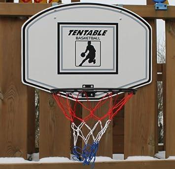 Basketballkorb klappbar, Basketball Korb Ring Netz mit Back Board ...