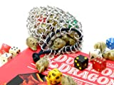 Tangled Metal: Medium Aluminum Chainmail Dice Bag Pouch