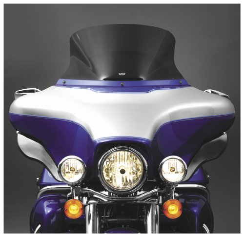 (National Cycle 06-13 Harley FLHX2 VStream Windscreen (Low) (Light Smoke))