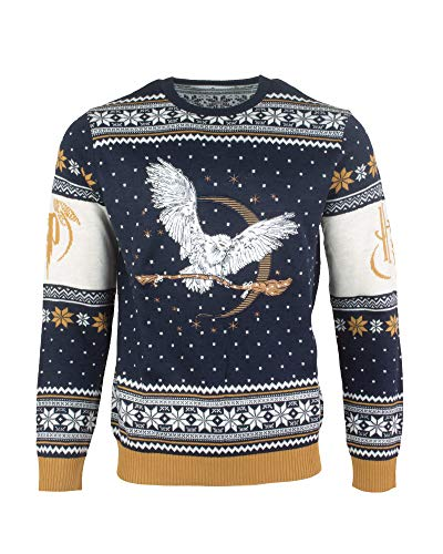 NUMSKULL-Harry-Potter-Hedwig-Sweater-Homme