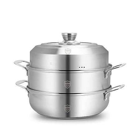 Cocina al vapor de acero inoxidable, multifunción, no ...
