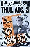 Guy Lombardo Vintage Poster USA c. 1941 (12x18 Collectible Art Print, Wall Decor Travel Poster)