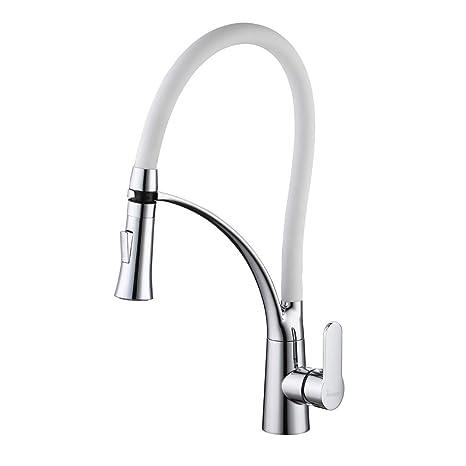 Wasserhahn Küche mit Hoher Auslauf Küchenarmatur Schwenkbereich ...