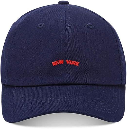 zlhcich Gorra de béisbol de Moda Hipster Visera Gorra Azul Marino ...