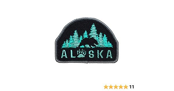 Juneau Alaska America State Usa Us AK Sew-On Patch State 0049