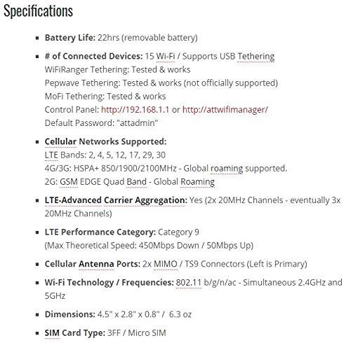 Netgear Unite Explore 4G LTE Rugged Mobile WiFi Hotspot GSM Unlocked by NETGEAR (Image #3)