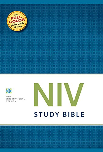 NIV Study Bible, Hardcover, Red Letter Edition ()