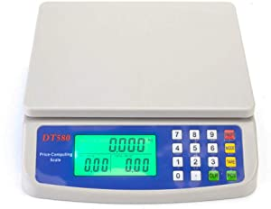 Thaweesuk Shop Electronic Digital Weight 33LB 15kg1g Price Computing Food Meat Kitchen Scale 8.27