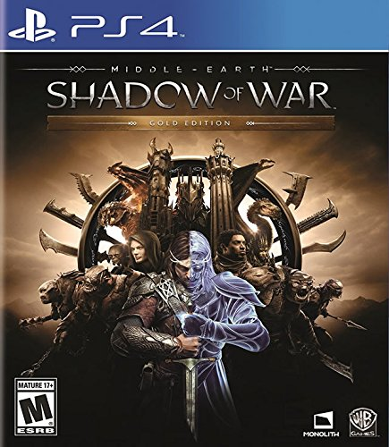 Middle-Earth: Shadow Of War Gold Edition - PlayStation 4 (Best War Strategy Games Ps4)