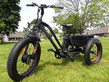 Amazon.com: Neumático de grasa triciclo eléctrico, patinete ...