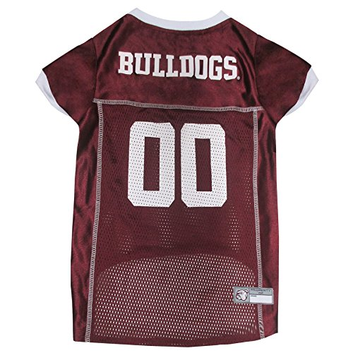 e Mississippi State Bulldogs Dog Mesh Jersey, X-Small (Mississippi State Jersey Mesh)