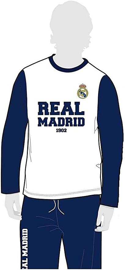 MADNESS - Pijama Real Madrid 1902 - Talla S: Amazon.es ...