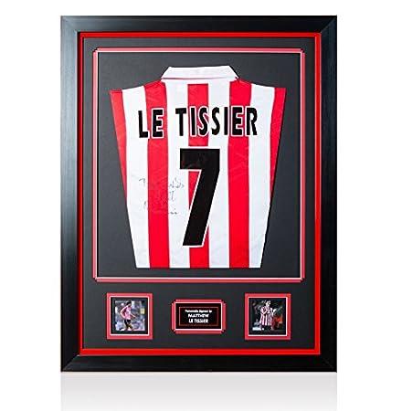 fc8f0a8e8 Matt Le Tissier Back Signed Southampton Shirt - Number 7  Amazon.co.uk   Kitchen   Home