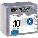 T'nB CDTC10 Pack de 10 boîtiers Crystal standards