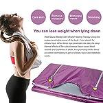 zinnor Far Infrared Sauna Blanket 2 Zone Digital Controller Slimming Weight Detox Spa (US Shipping)