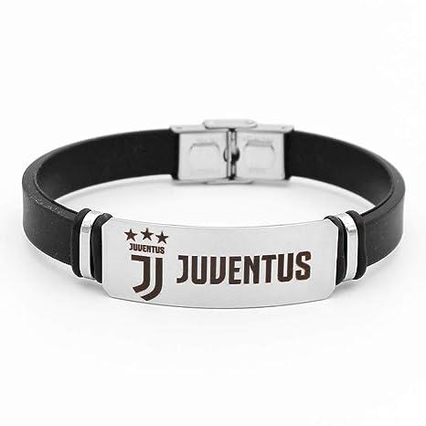 weiwei Braccialetto in Silicone Sportivo con Cinturino in Silicone,Juventus,Taglia  Unica Wei