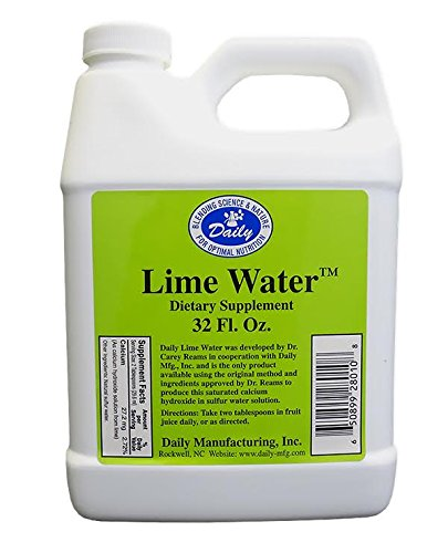 Lime Water by Daily Manufacturing (32 oz)