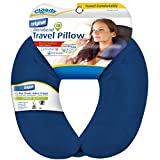 Cloudz Microbead Travel Neck Pillow – Blue