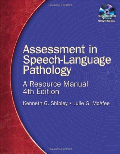 Assessment In Speech Lang.Path... W/Cd