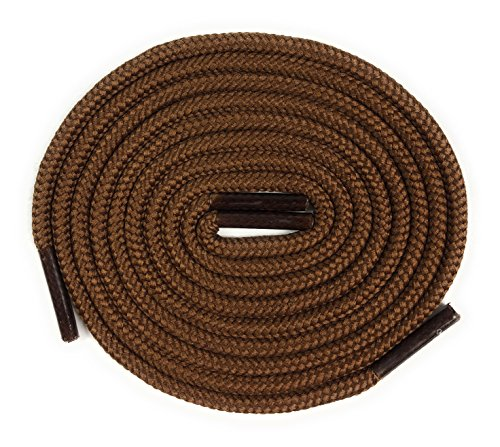 Fintoco Heavy Duty Boot Laces - 30 Inches Brown Shoelaces by Fintoco (Image #1)