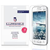 iLLumiShield - Samsung Galaxy V Plus Screen Protector with Lifetime Replacement Warranty - Ultra Clear HD Film with Anti-Bubble and Anti-Fingerprint - High Quality Invisible LCD Shield - [3-Pack]