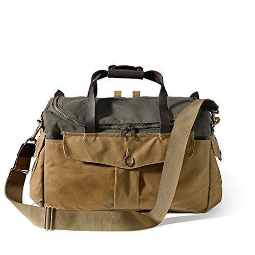 Filson 70143 Original Sportsman Camera Bag (Otter Green/Tan) by Filson
